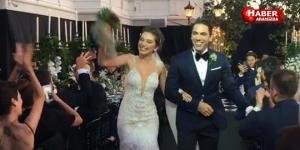 Türkiye bu düğünü konuştu Neslihan Atagül ile Kadir Doğulu evlendi