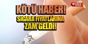 Tiryakilere Kötü Haber Sigaraya Zam Geldi!