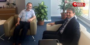 Başkan Şahin'den Yedaş Genel Müdürü Aktürk'e Ziyaret