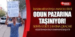 Samsun Mithatpaşa Anadolu Lisesi Odun Pazarına Taşınıyor!