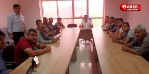 Sarıcaoğlu'ndan TYP Çalışanlarına Veda Toplantısı