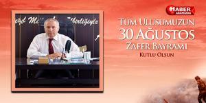 Ayvacık Belediyesi 30 Ağustos Zafer Bayramı Mesajı