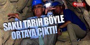 Başkan Yılmaz, Çalışmaları Yapılan Tünele Girdi