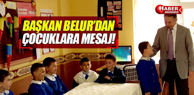 Ayvacık'ta Çocuklar İlk Eğitim Öğretim Dönemine Başkan Belur İle Girdi!