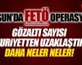 Samsun'da FETÖ Operasyonu! Gözlatı, Tutuklanan ve Uzaklaştırmalar Artıyor!