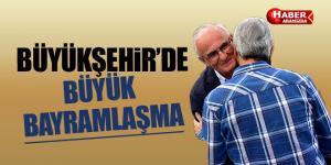 Samsun Büykşehir Belediyesi'nde devlet-millet bayramlaşması