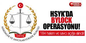 HSYK'da 'ByLock' Operasyonu! 184 hakim ve savcı açığa alındı!