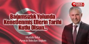 Ayvacık Belediyesi Cumhuriyet Bayramını Kutladı