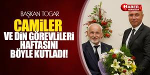 Başkan Togar Camiler ve Din Görevlileri Haftasını kutladı