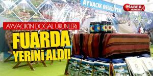 Ayvacık İstanbul SADEF Fuarında Yerini Aldı