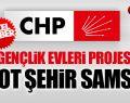 Chp'nin Gençlik Evleri Projesine Pilot Şehir Samsun