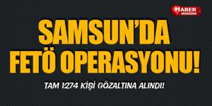 Samsun'da FETÖ Operasyonu Sürüyor!