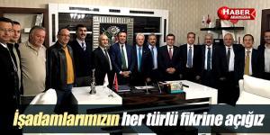 Başkan Genç, Ankara'da işadamları ile buluştu