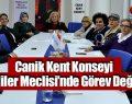 Canik Kent Konseyi Engelliler Meclisi'nde görev değişimi