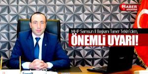 Samsun MHP'den OMÜ'de öğrenci konsey seçimleri öncesinde önemli uyarı