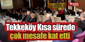 AK Parti Tekkeköy İlçe Danışma toplantısı yapıldı