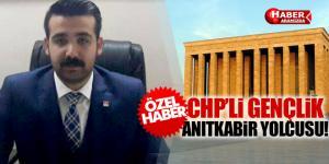 CHP 55 GENÇ iLE ANITKABİR'E GİDİYOR