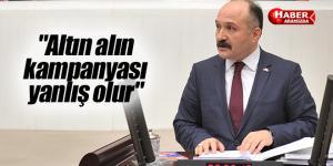 Erhan Usta 'Altın alın kampanyası yanlış olur'