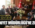 MEMUR-SEN'DEN İL EMNİYET MÜDÜRLÜĞÜ'NE ZİYARET