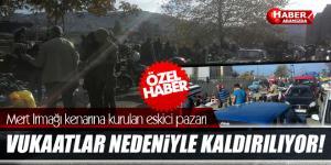 Samsun Mert Irmağı Kenarına Kurulan Eskici Pazarı Kaldırılıyor!