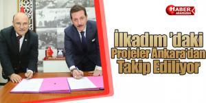 İlkadım 'daki Projeler Ankara'dan Takip Ediliyor