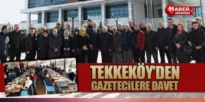 Tekkeköy Belediyesi 10 Ocak Çalışan Gazeteciler Gününü Kutladı