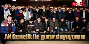 Başkan Togar 'AK Gençlik ile gurur duyuyorum'