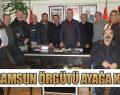 CHP SAMSUN ÖRGÜTÜ AYAĞA KALKTI
