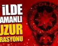 81 İlde Eşzamanlı Huzur Türkiye 2 Uygulaması Gerçekleştirildi