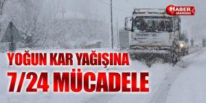 Tekkeköy'de 7- 24 karla mücadele