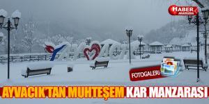 Ayvacık Kar Altında