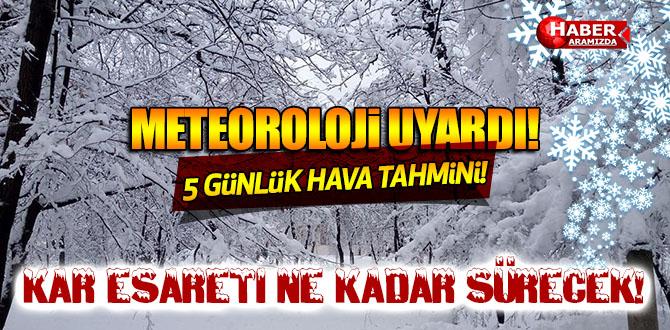 Meteoroloji Uyardı! Samsun'da O İlçelerde Buzlanma Bekleniyor