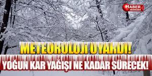 Yurtta ve Samsun'da Yoğun Kar Yağışı ve Zirai Don Uyarısı!