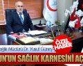 Samsun İl Sağlık Müdürü Dr. Yusuf Güney SAMSUN'UN SAĞLIK KARNESİNİ AÇIKLADI!
