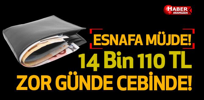 Zora Giren Esnafa 14 Bin 110 TL Destek