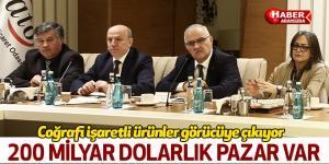 Başkan Çakır 'Coğrafi işaretli ürünler görücüye çıkıyor'