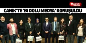 Canik'te 'Bi Dolu Medya' konuşuldu