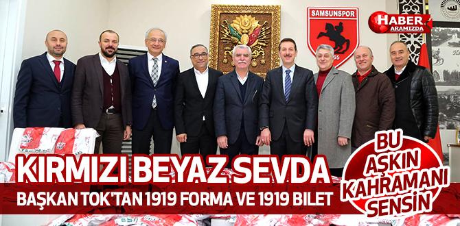 Başkan Tok'tan 1919 Forma ve 1919 Bilet