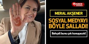 Meral Akşener'in yeni kampanyası sosyal medyayı salladı