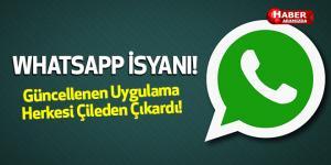 Whatsapp Güncellendi Kullanıcılar İsyan Etti! Kişilerim Nerede!