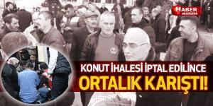 Samsun'da Konut İhalesi İptal Edildi Ortalık Karıştı!
