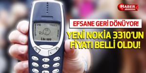 Efsane Geri Dönüyor! Yeni 3310'nun fiyatı belli oldu