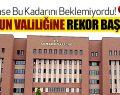 Samsun'da Valiliği 1 Yılda Rekor Başvuruya Ulaştı!