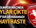 Samsunspor Maçında Olaylar Çıktı! Taraftar Sahayı Bastı!