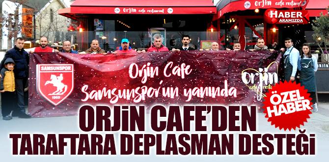 Orjin Cafe'den taraftara deplasman desteği