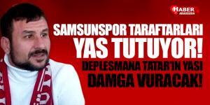 Samsunspor Taraftar Camiası Tatar Engin İren'in Yasını Tutuyor!