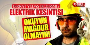 Samsun'da O İlçeler Uyarıldı Elektrikler Kesilecek!