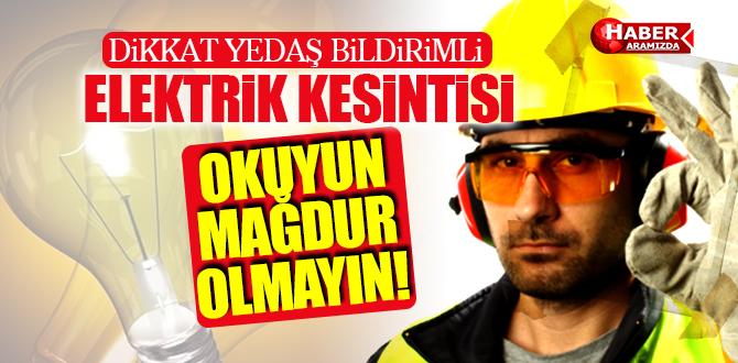 Samsun'da Doğalgaz'dan Sonra Elektrik Kesintisi!