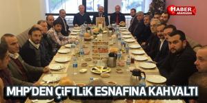 Samsun MHP'den Çiftlik Esnafına Kahvaltı