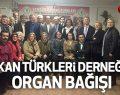 Balkan Türkleri Derneğinde Organ Bağışı